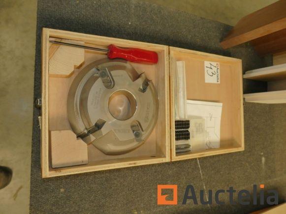 Zuani 2.840.180 D2 Flachband-Werkzeughalter
