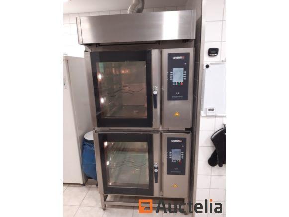 Leventi Double Oven - Bakermat Modell mit Haubenmodul