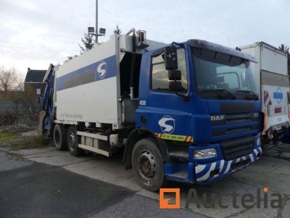 Müllwagen DAF AG75-PE (2004) - Matis 4930