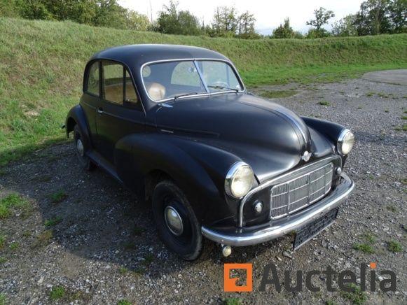 Auto Vorgänger MORRIS MINOR MM-Serie von 1955