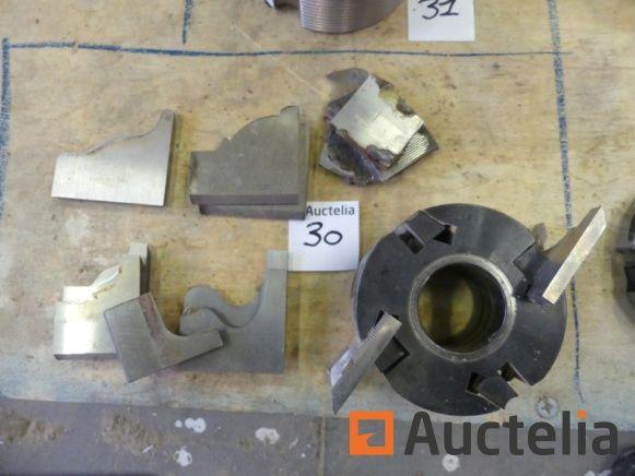 Werkzeughalter für 4 Gilco-Wellenmesser