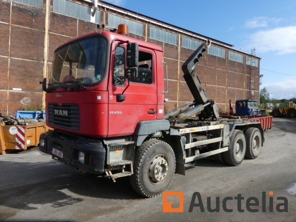 Man T33DF Container Truck (2002-578270 km)