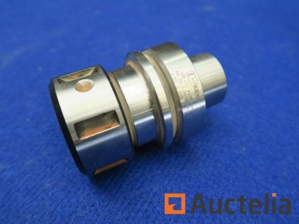 Werkzeughalter mit Fräser pour CNC-Bearbeitungszentrum Weeke HSK-F63
