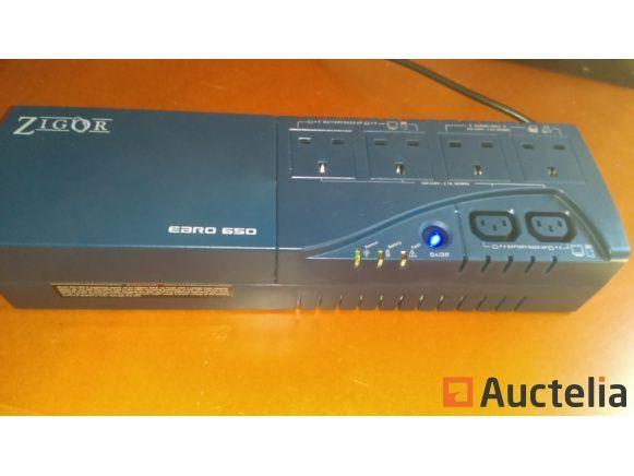 USV (Notstromversorgung) EBRO 650VA / 360W - neu + neue Batterien