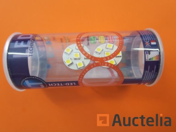 300 x 2 LED-Lampen-TECH G4-6SMD 12 Volt 1,0 Watt 90 Lumen 2800K