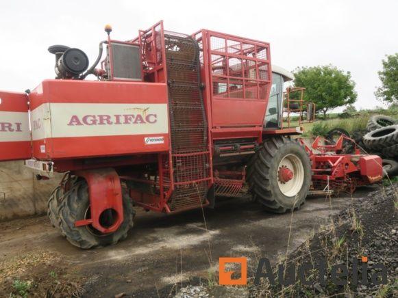 AGRIFAC WKM9000 Rübenvollernter