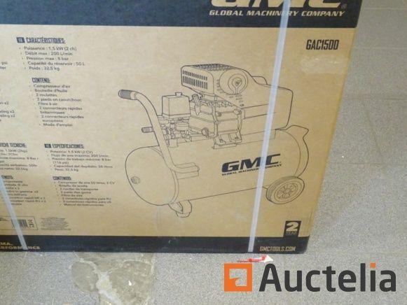 50 l GMC Luftkompressor
