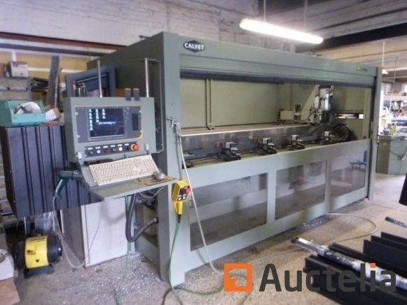 EMMEGI PHANTOMATIC T4 STAR Digitales Bearbeitungszentrum für Aluminiumprofile