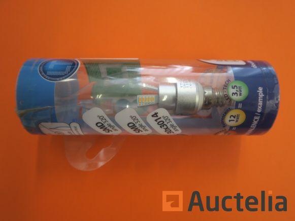 210 LED-TECH-Lampen 30 x 3014 E14 warmweiß 2800 Kelvin 3,5 Watt Winkel 320 °