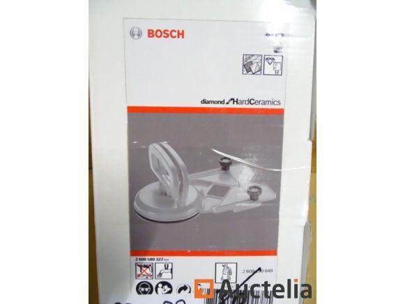 Saugnapfzentrum für Bosch-Wasserdiamantbohrer und Sägepfannen oder große Modellführung Zubehör