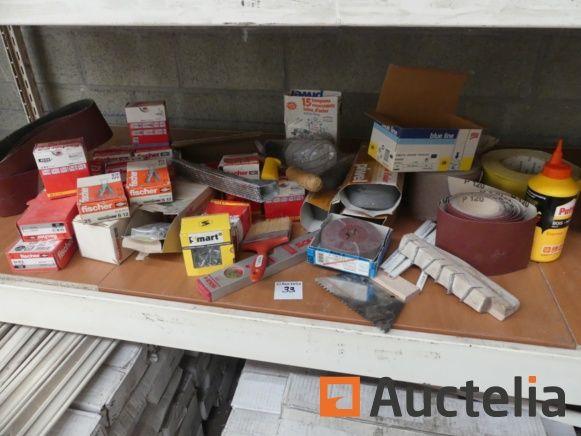 Schleifmittel, Kunststoffdübel Fischer, ...