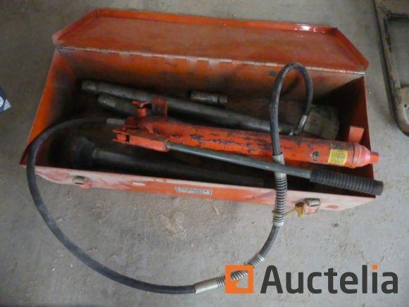 Manuelle Hydraulikpumpe mit hydraulischem Antrieb