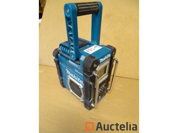 Site Radio Makita Bluetooth DMR108