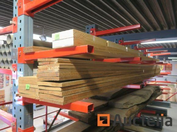 Pitch Pine Planken, Zedernholzbalken