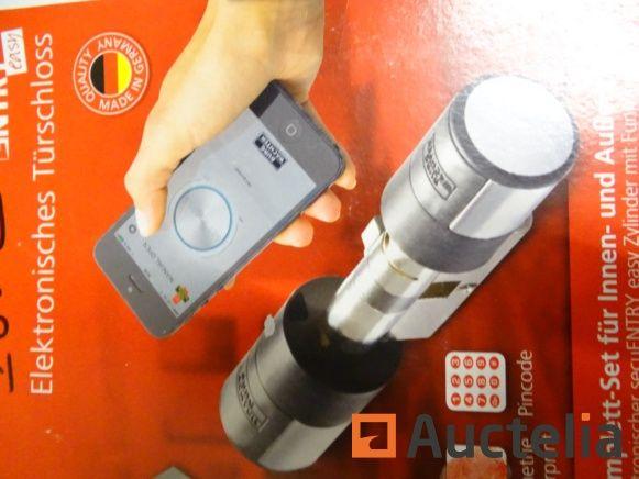 Tür elektronisches Schloss Zylinder Broschüre Easy 5602 Fingerabdruck (Ladenwert: € 320)