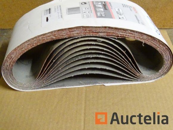 10 Bosch-Papiere für Bandbandschleifer
