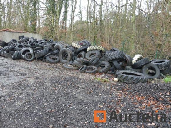 Viele verschiedene Reifen