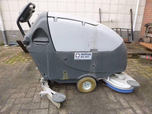 Nilfisk Scrubber Driver BA851 Elektrisch