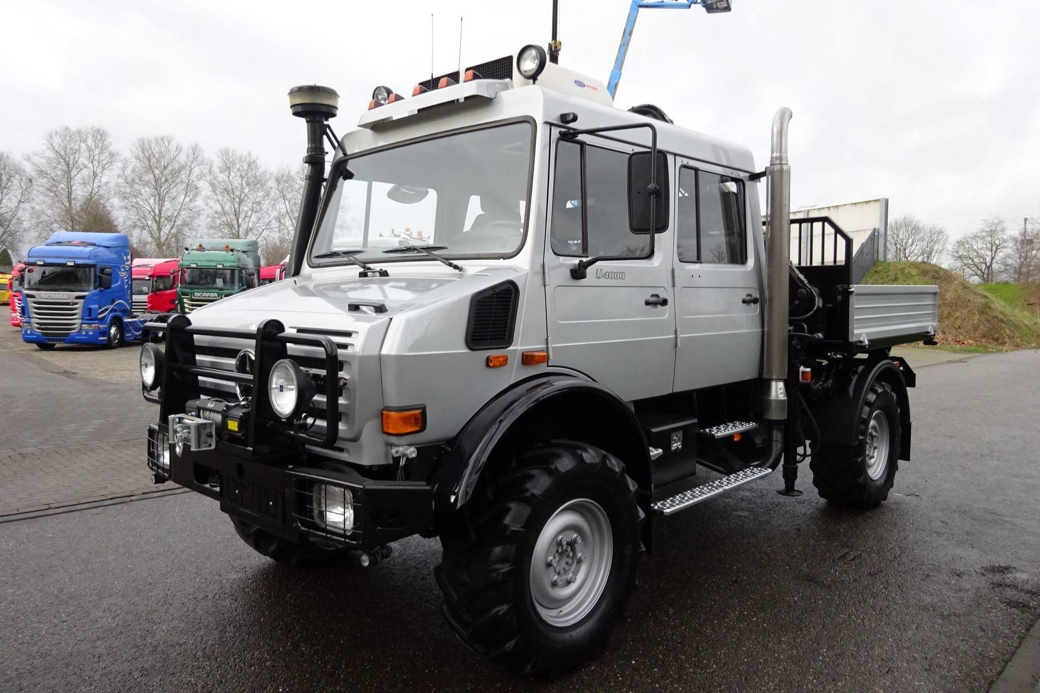 Mercedes-Benz Unimog U4000 Diesel