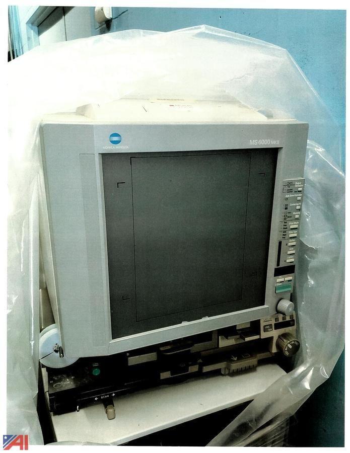 Minolta Microfiche Machine