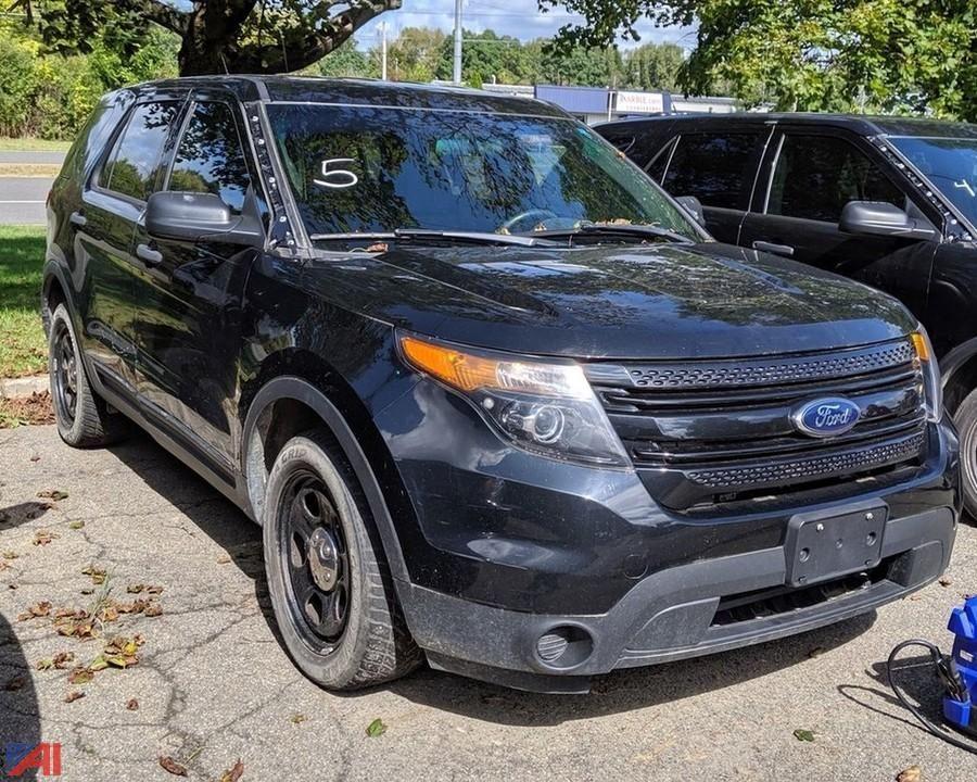 2014 Ford Explorer SUV / Polizei Interceptor