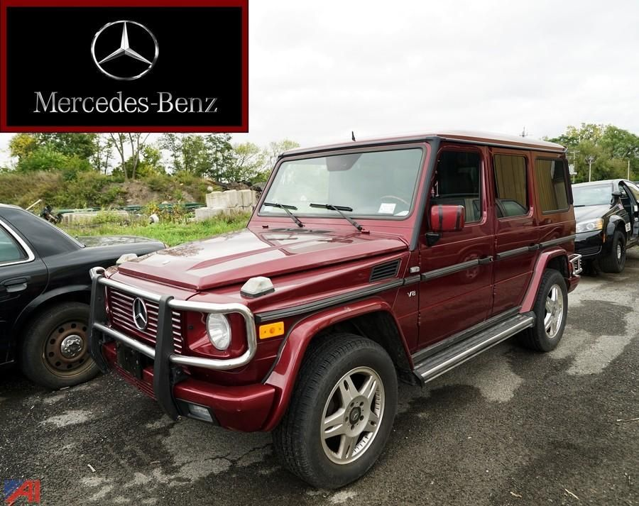 2002 Mercedes Benz G500 SUV