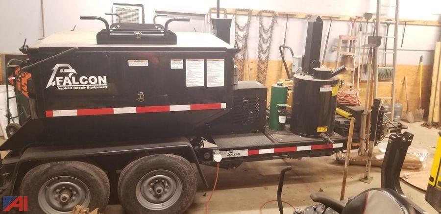 2018 Falcon Asphalt Repair Hot Box Anhänger