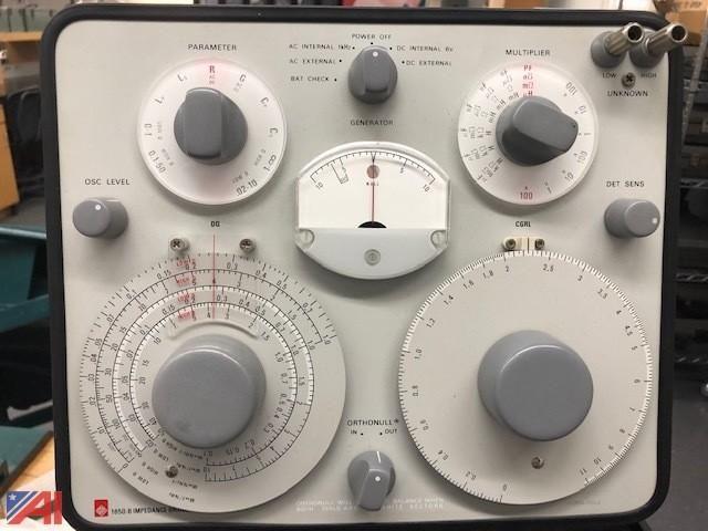 General Radio Company Impedence Bridge Tester