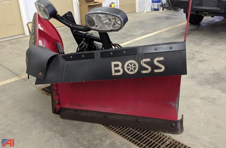 BOSS Schneepflug Power-V XT