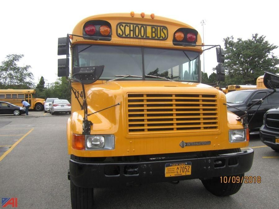 1994 Internationaler 3800 Blue Bird Schulbus