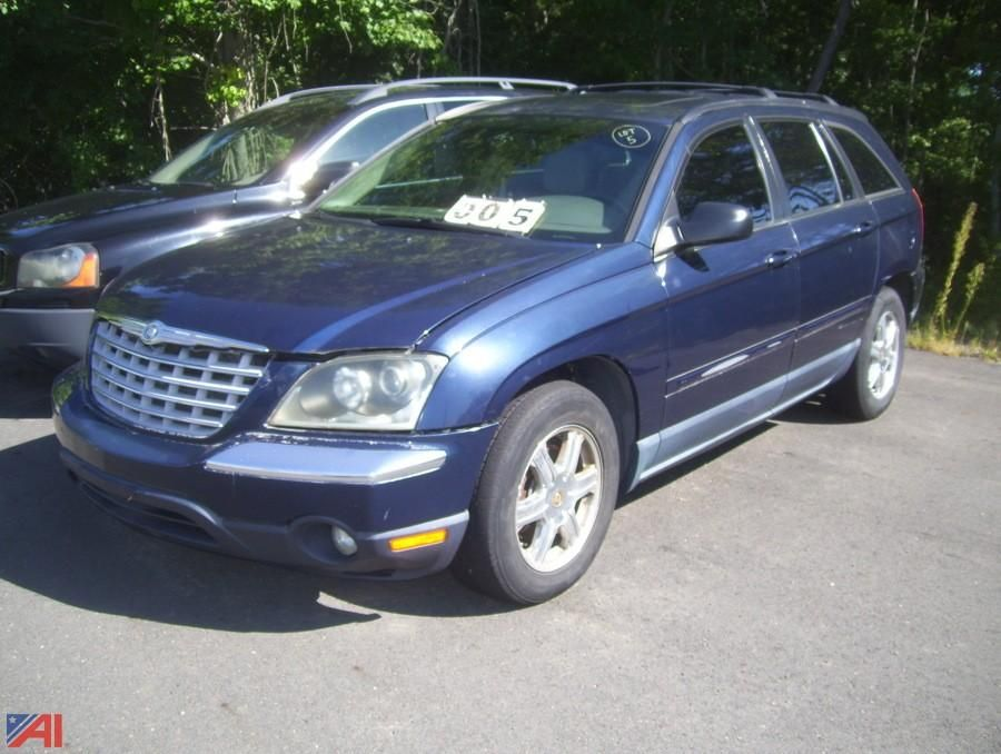 2004 Chrysler Pacifica 4 Türer