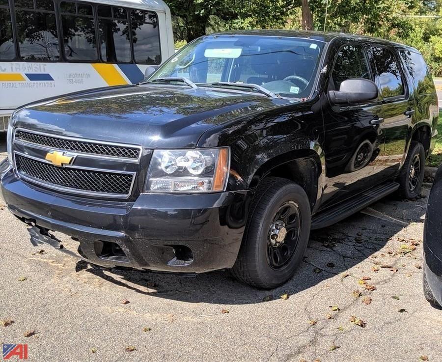 2013 Chevy Tahoe SUV / Polizei-Paket