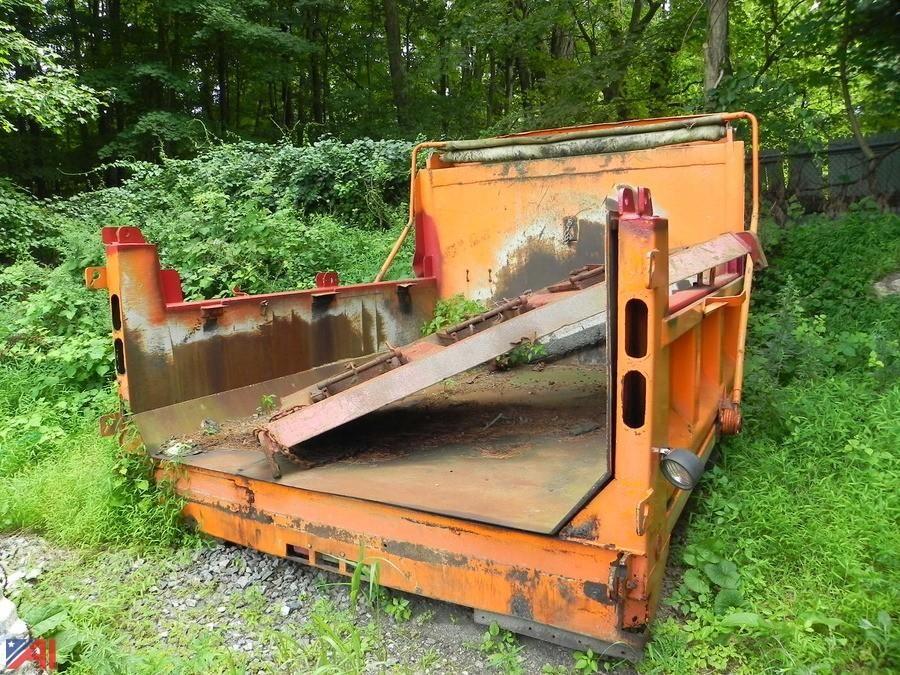 2005 Tenco 5 Yard Dump Body mit Schleifmaschine
