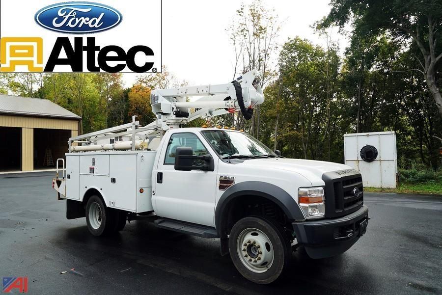2009 Ford F550 XL SD Altec AT37G Antenne Eimer LKW
