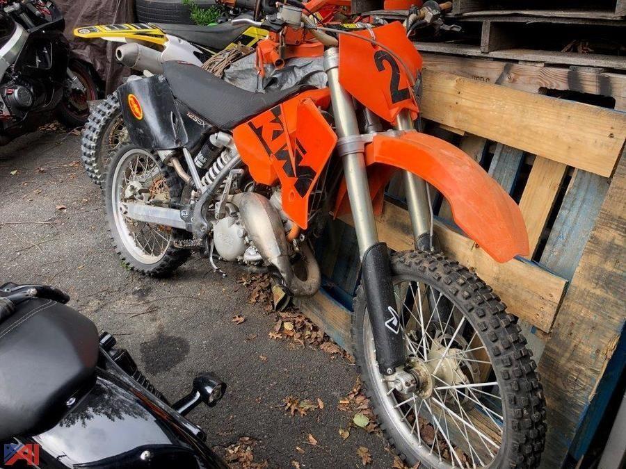 KTM 125SX Fahrrad