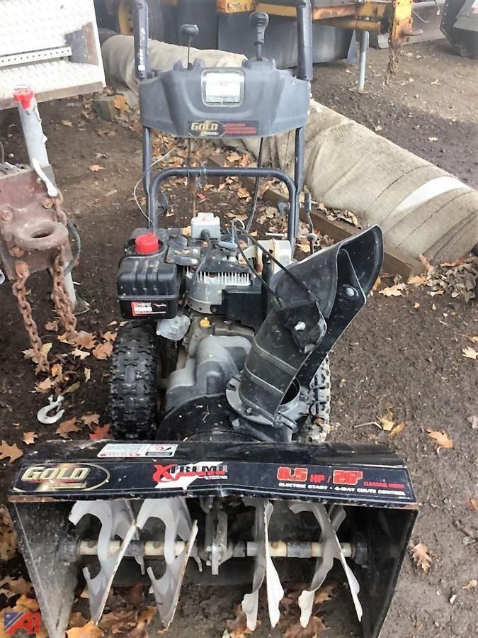 Gold Yard Machine Schneefräse