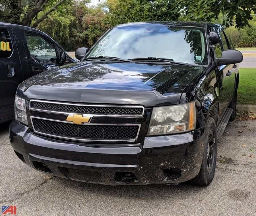 2012 Chevrolet Tahoe / Polizei Paket SUV / Polizei Paket