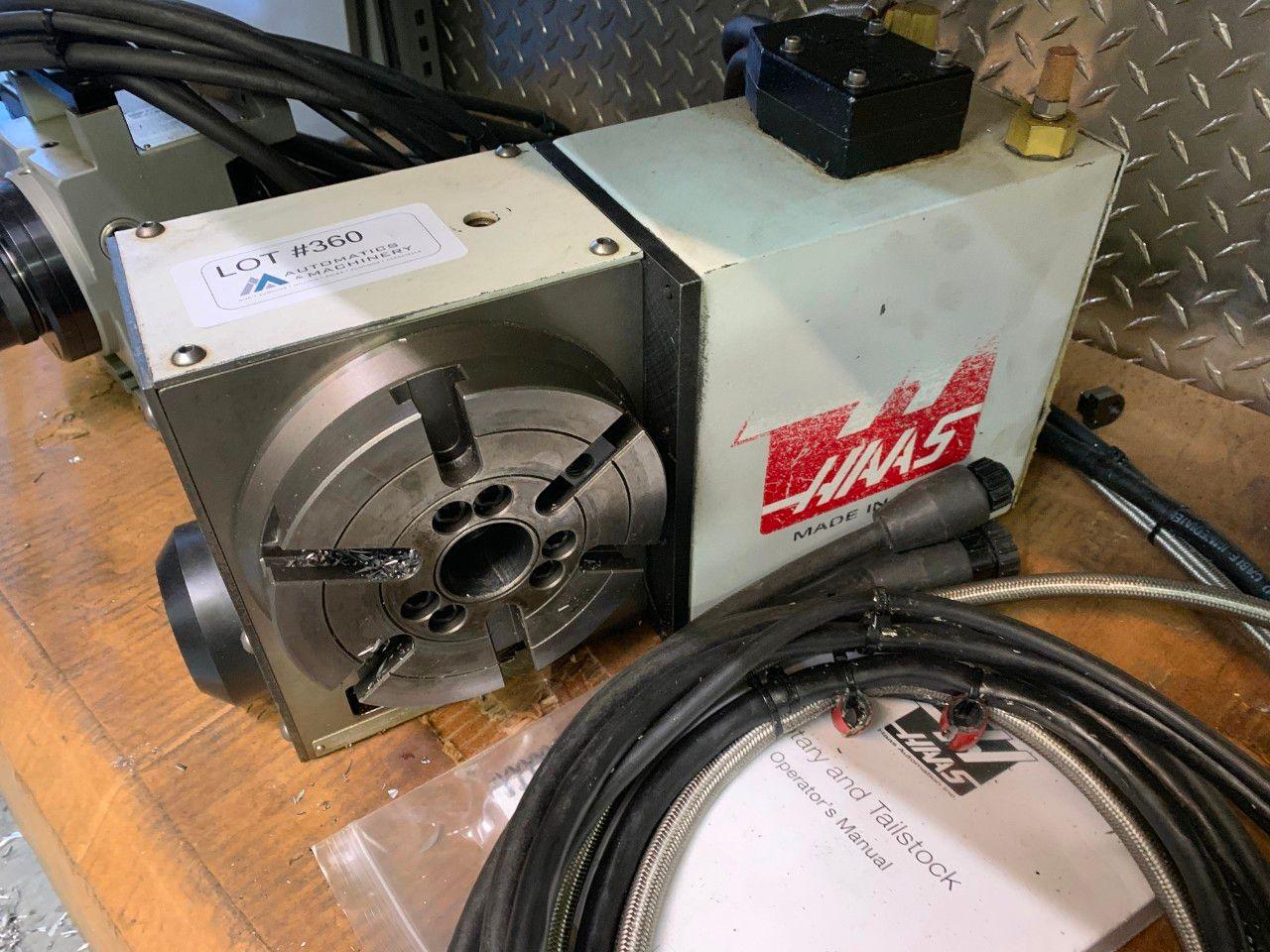 Haas HRT-160 4-Achs-Rundtisch