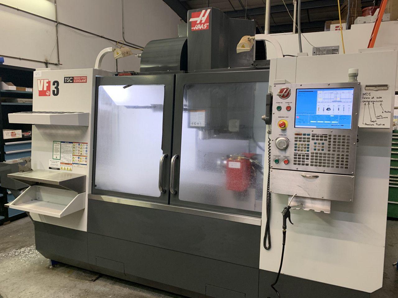 Haas VF3 Vertikal-CNC-Bearbeitungszentrum Heavy Duty Gearbox