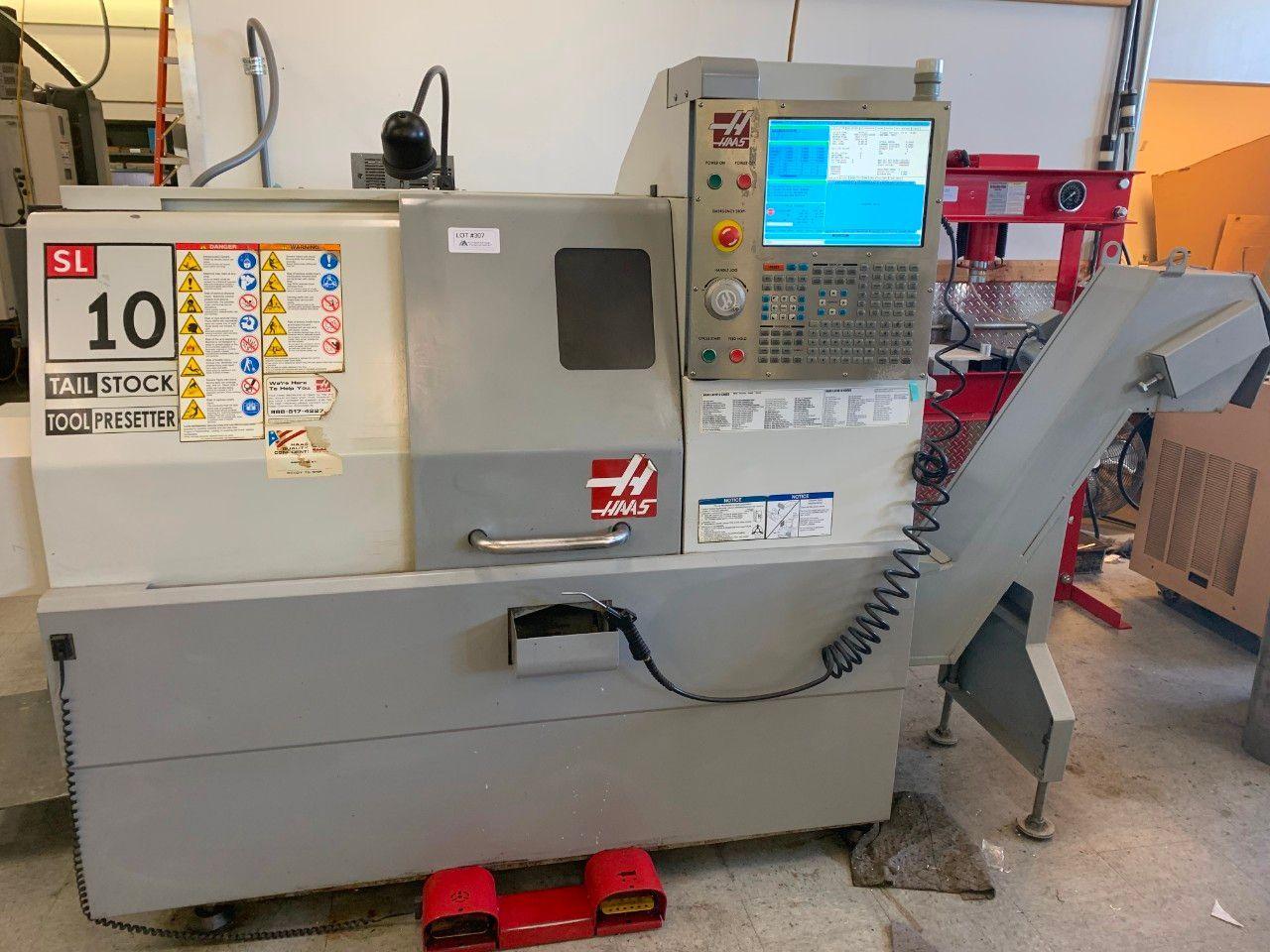 Haas SL-10T CNC-Drehzentrum