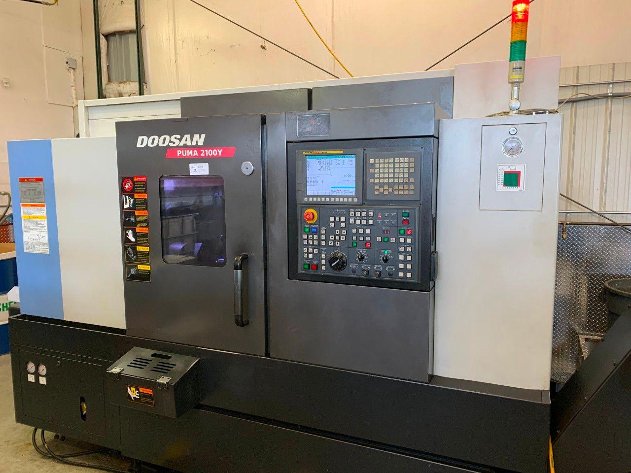 Doosan Puma 2100Y Live Tool CNC-Drehzentrum