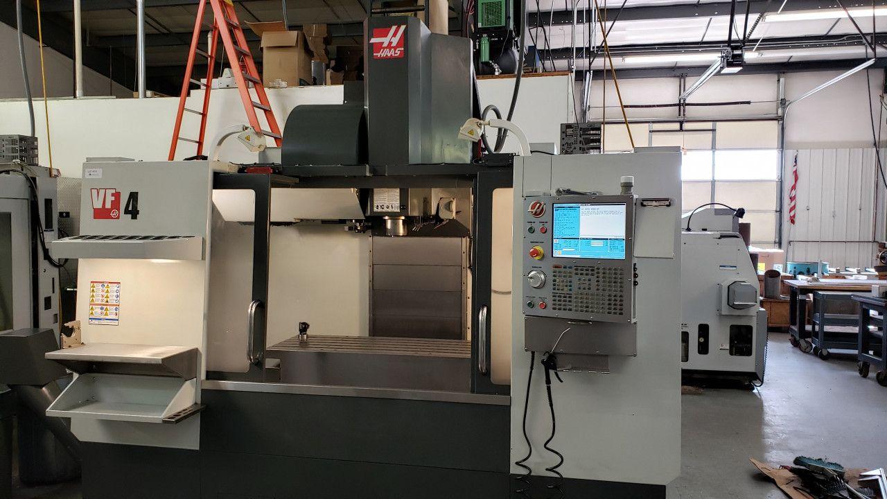 Haas VF4 CNC Vertikal-Bearbeitungszentrum 10k Spindel TSC