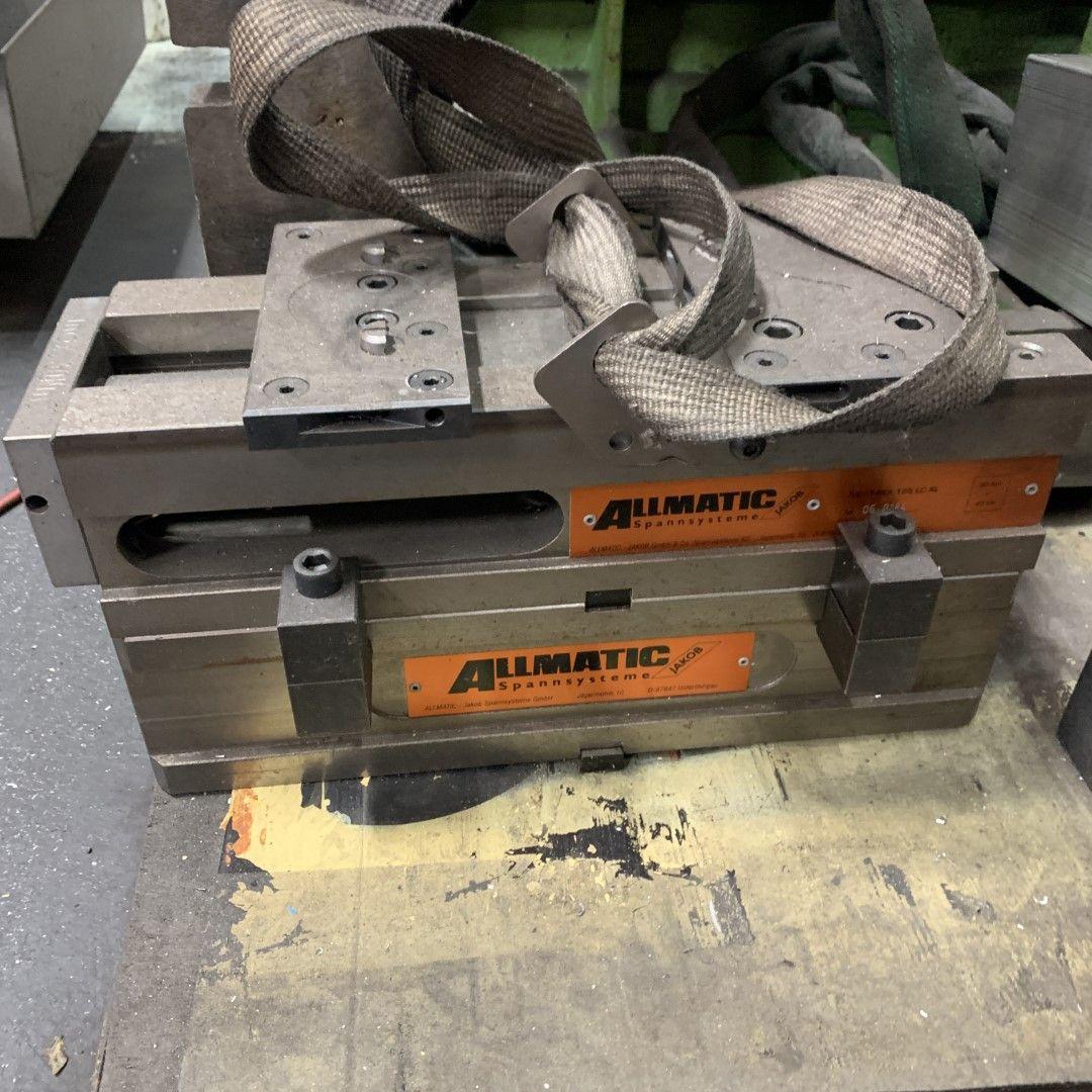 1 Maschinenschraubstock Allmatic Anahtar Sistemi