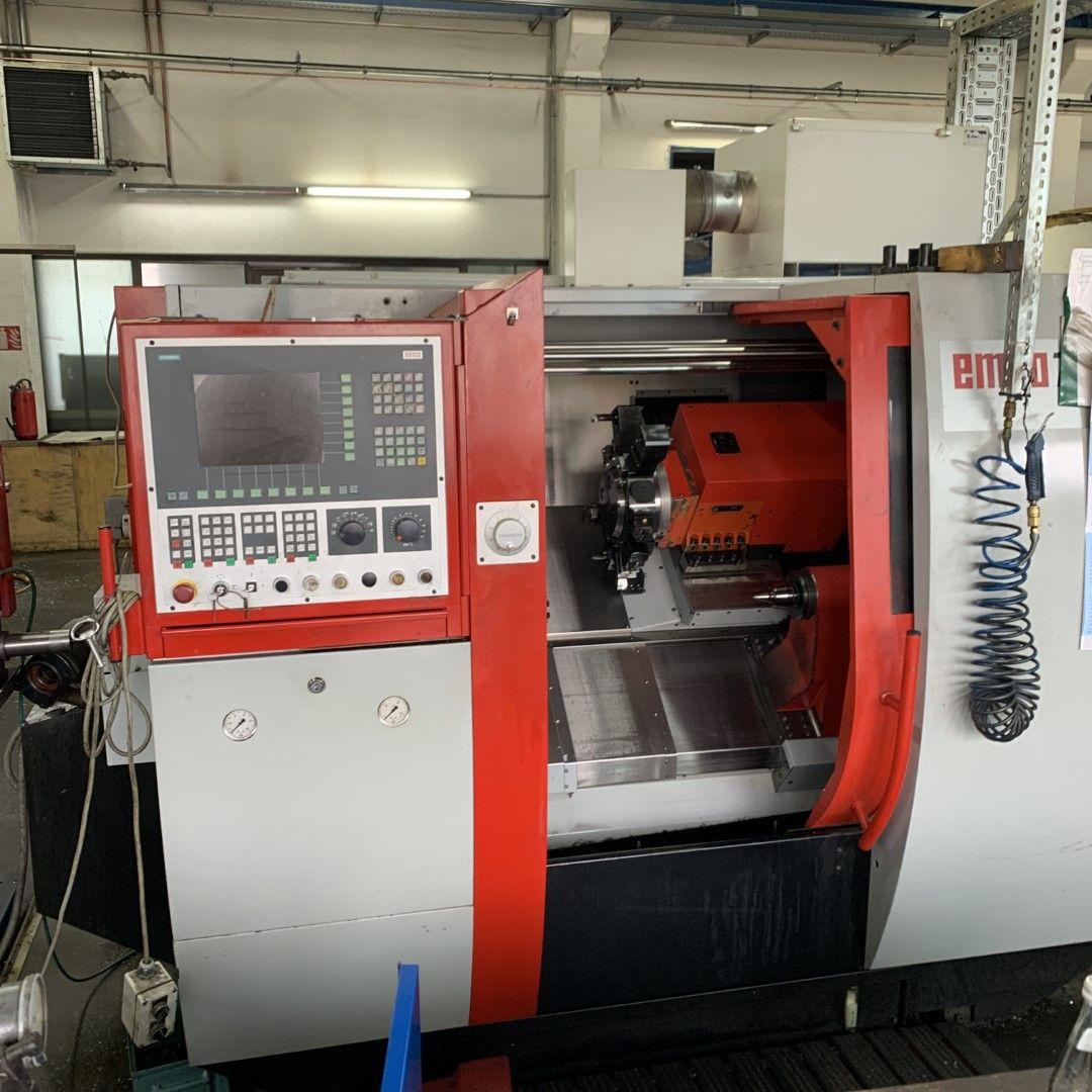 1 CNC-Drehmaschine Emcoturn