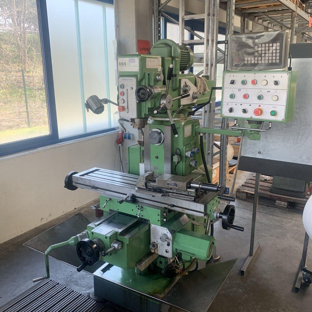 1 konventionelle Fräsmaschine Kami GmbH