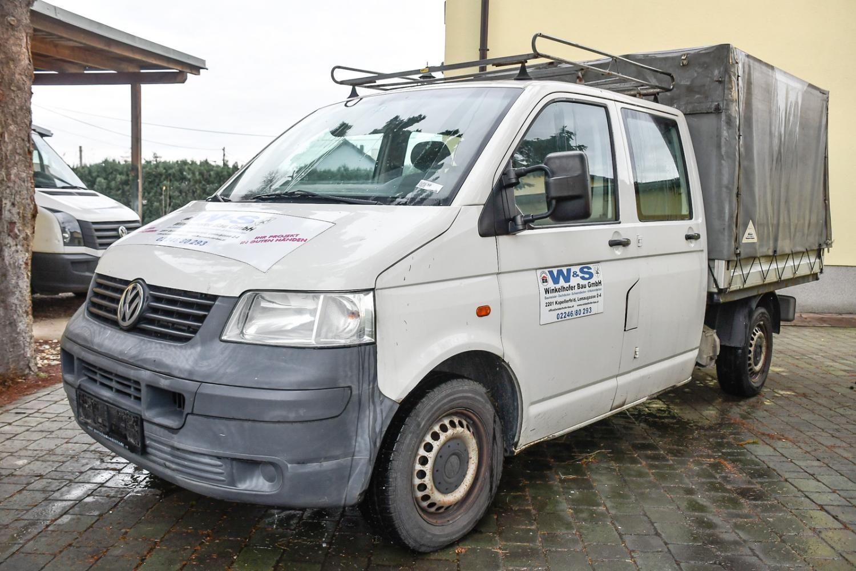 Doka Pritsche VW Transporter T5 TDI