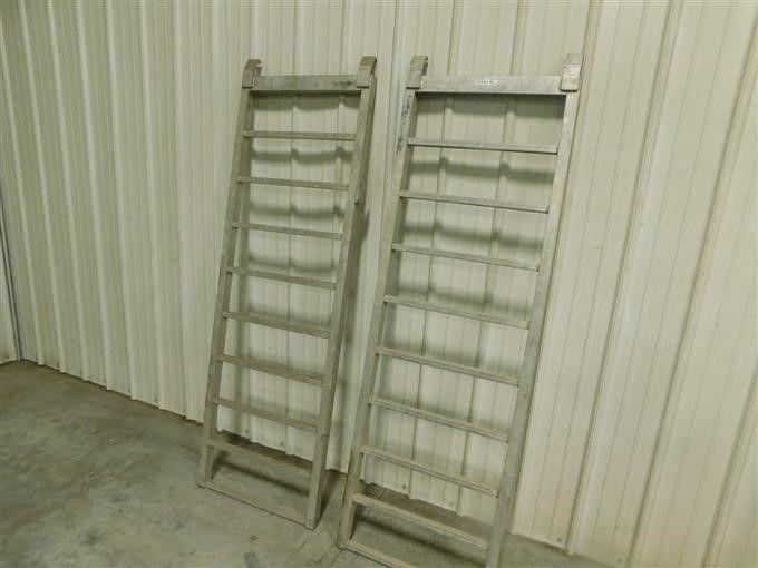 Aluminium-Auffahrrampen