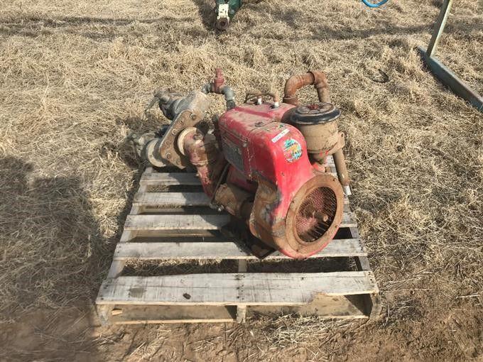 Wisconsin THD Gasmotor / Pumpe