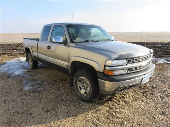 2000 Chevrolet K2500 Silverado LS 4X4 Tonabnehmer
