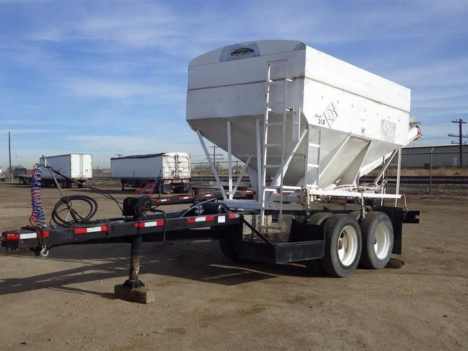 1995 Selbst gemachter T / A Trailer W / Twin Compartment Box